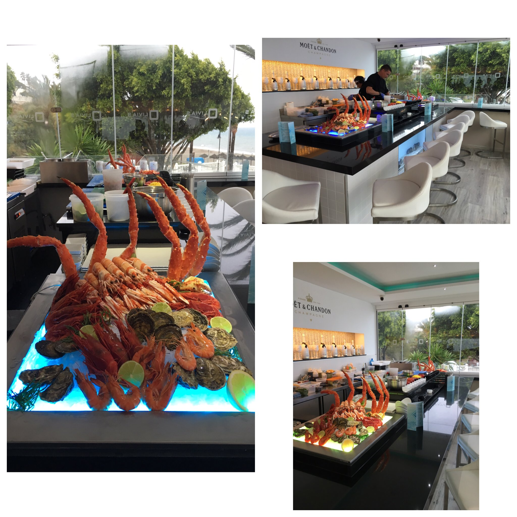 Seafood/RawBar @oliviaslacala 🔥🔥🔥 #Unreal #Excited #ConceptComplete #ItvBE @itvbe https://t.co/iCafqwuR7U