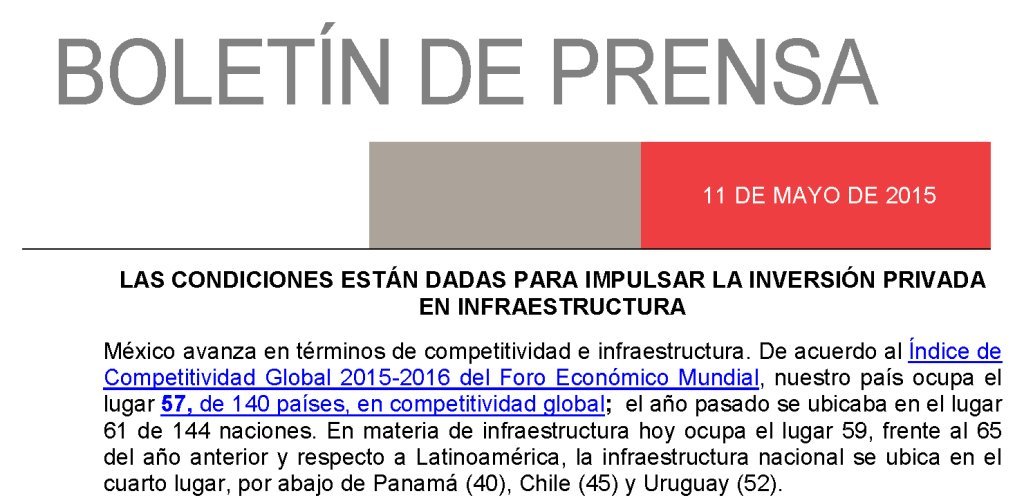 Las condiciones están dadas para impulsar la inversión privada en #infraestructura: https://t.co/pJlk4Bjx7y https://t.co/GAx3ZMgdYB