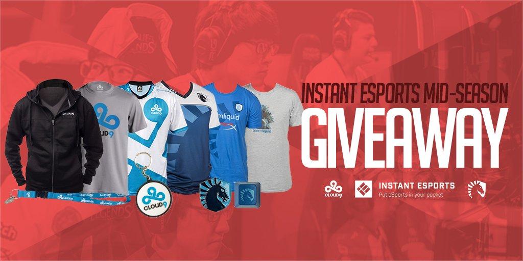 Enter IE's Mid-Season Giveaway to win @Cloud9 & @TeamLiquidLoL swag! Details here: https://gleam.io/fb/ToYqk