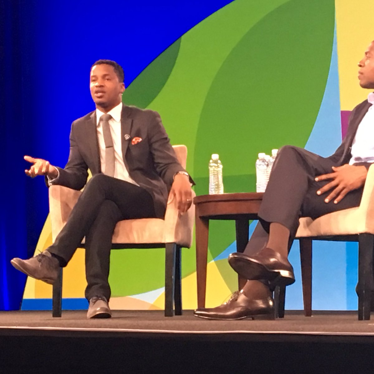 """When people tell you it's impossible, that's when you know you're on the right track"" - @NateParker #nsvfsummit https://t.co/kOb8LVy31v"