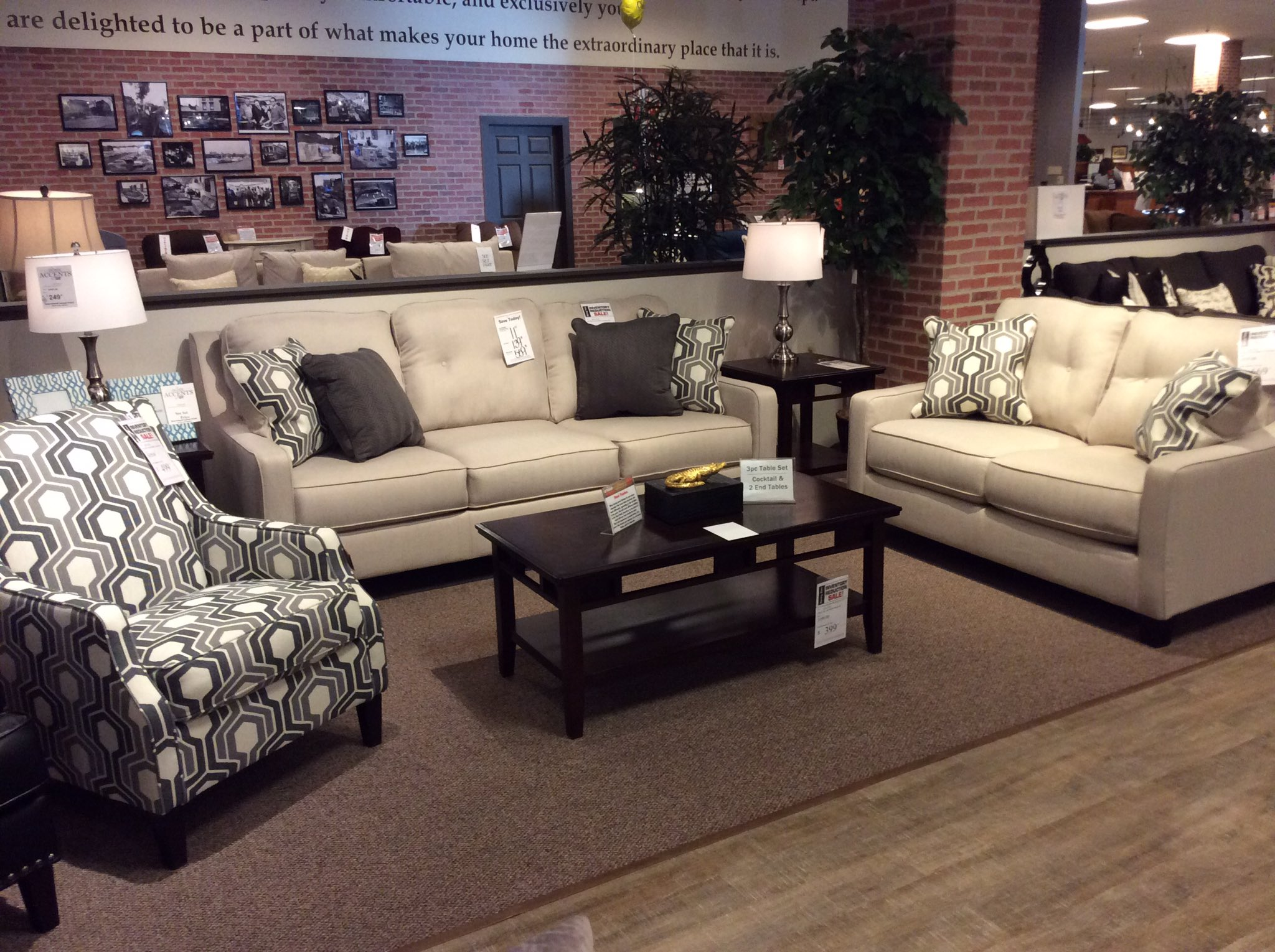 """Taft Furniture on Twitter: """"Brand new set just added to our"""