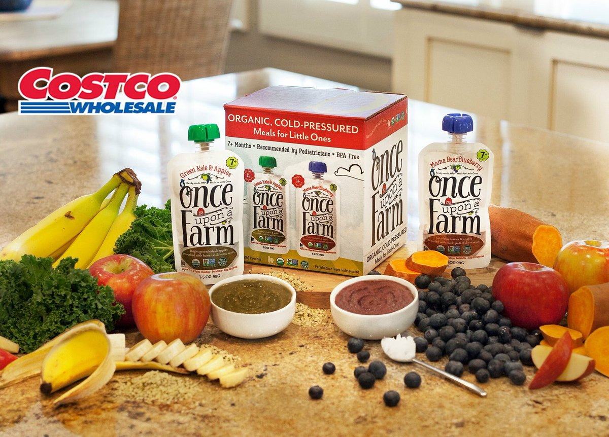 Once Upon A Farm On Twitter 2 New Costco Locations Costco Poway And Costco Vista Our Organic Cold Pressured Fruit And Veggie Blends Are Here