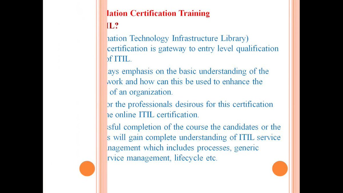 Itilcertification Hashtag On Twitter