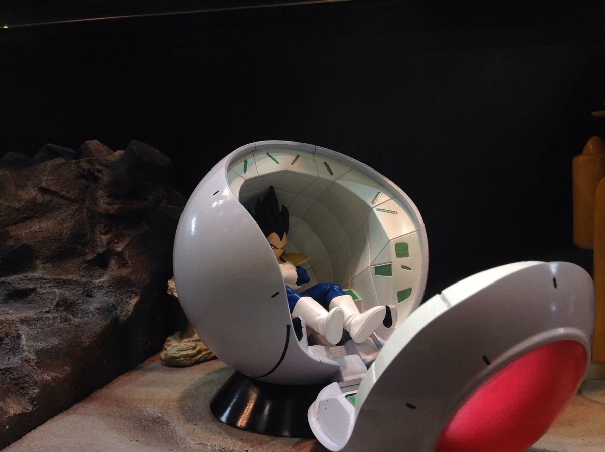 【NEW】静岡ホビーショーにベジータ襲来!? 新プラモデルシリーズ『ドラゴンボールメカニクス(仮』)発表!