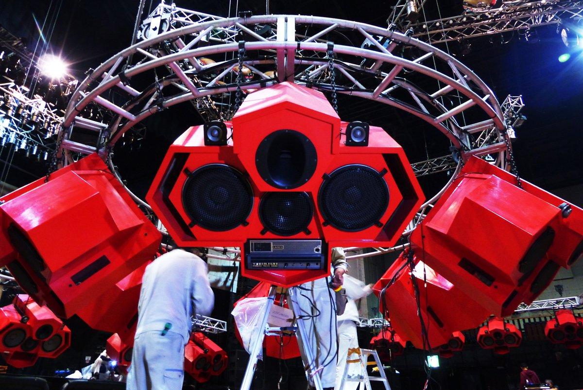 NEWS!!【ageHa Octagon Speaker RENEWAL①】 ageHaの象徴であり唯一無二のageHaオクタゴンスピーカーが13年の時を経て遂にリニューアル!更によりダイナミックな音響環境に!今週から作業を開始!! https://t.co/d8YF2ExaYS