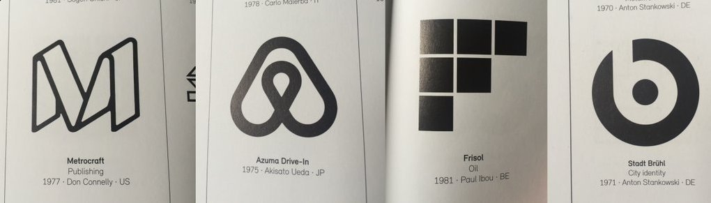 No, these are not the logos of Medium, Airbnb, Flipboard, and Beats. They're from a 1970's logo design book. https://t.co/YrVBWQvIc1