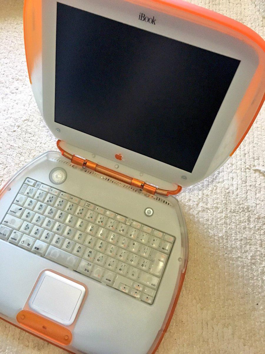 @zkxgm その時のノートMacがこちら。 うちの子 https://t.co/ACwJtWjrsa