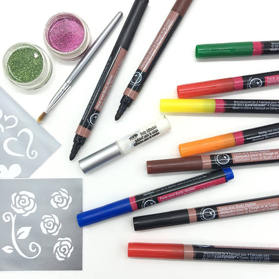 National Book Store On Twitter Nbsfinds Tulips Face And Body Art Primary Markers P735 Markers Henna P735 And Glitter Tattoo Kits P435