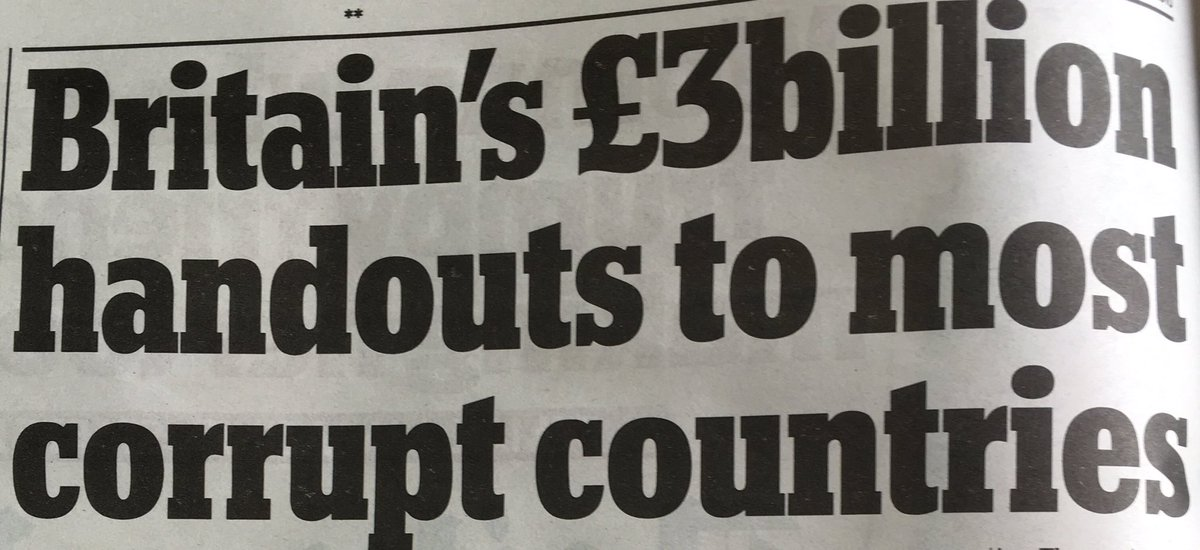 If it's true we gave £3bn to @David_Cameron fantastically corrupt countries, instead we could lower fuel duty by 8p https://t.co/5zoyJbISl2