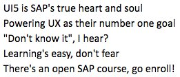 As it's National Limerick Day today, here's one for @openSAP and #UI5 :) https://t.co/RdCY5Qozkz