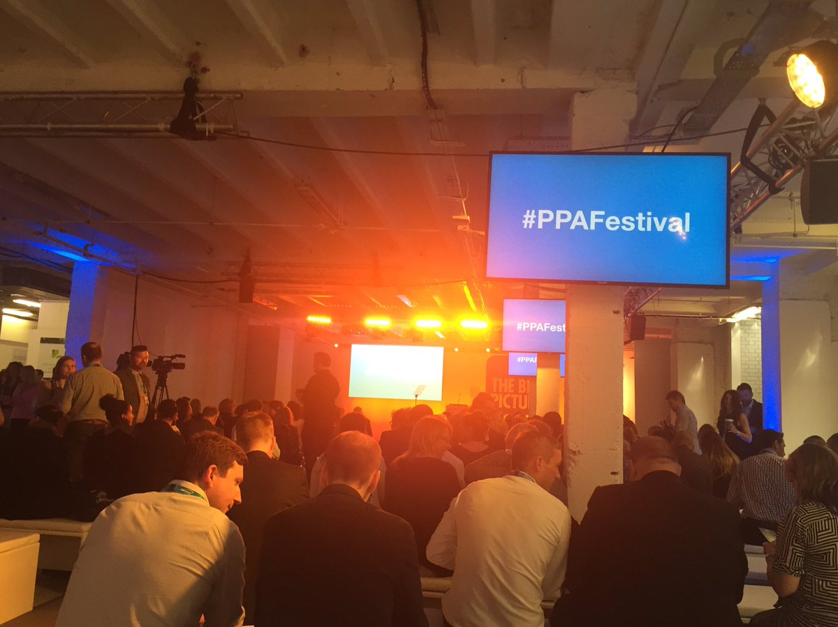 Packed room waiting for the first session of the day to begin #PPAFestival https://t.co/S8OkMiCe3G