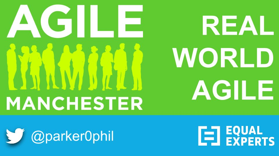 """13:15 in """"Rise and Shine"""". Real World Agile. Be there!! #agilemanc https://t.co/oc1shJNaxx"""