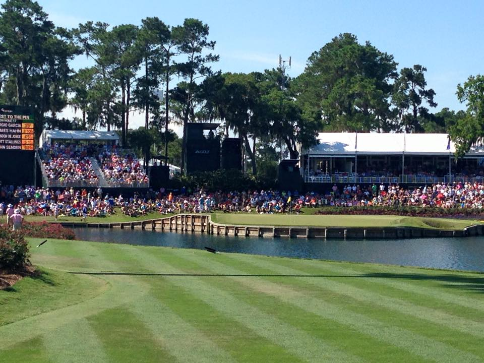 Throwback to #THEPLAYERS last year, when I had ringside seats for the 17th hole. #sendmeback #prettyplease<br>http://pic.twitter.com/j2sxXdtitp
