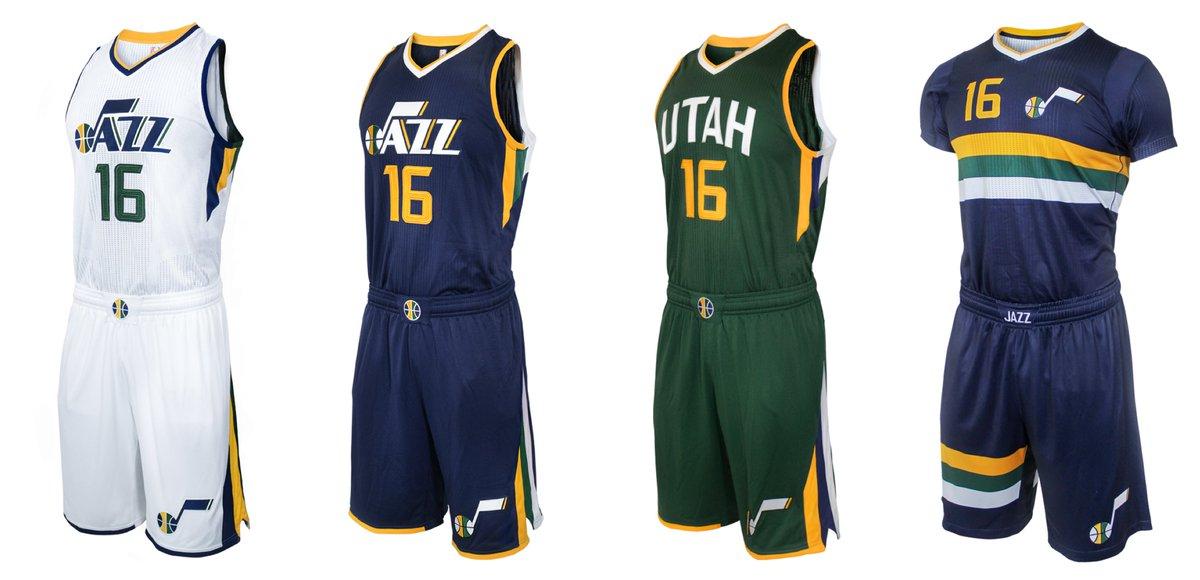 50e9175facc Utah Jazz Unveil New Uniforms