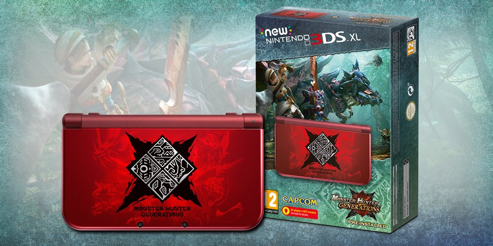 [3DS] Un bundle 3DS XL pour Monster Hunter Generations