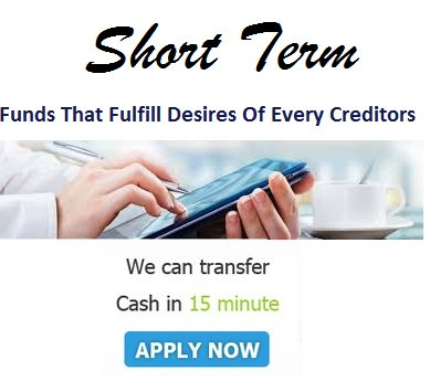 short term payday loans for bad credit