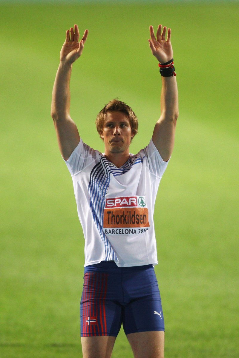 """European Athletics on Twitter: """"Our tribute to Andreas ... Andreas Thorkildsen"""