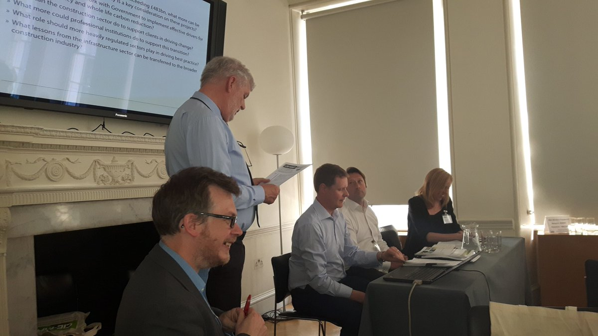 Construction sector panel from @HS2ltd @AnglianWater and @Paul_Toyne  #ciemap https://t.co/SauKz5yae7