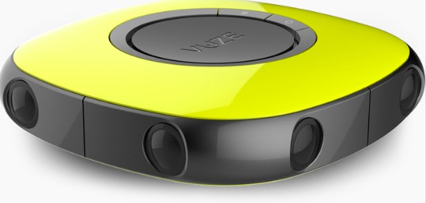 The $799 VUZE virtual reality camera goes up for pre-order