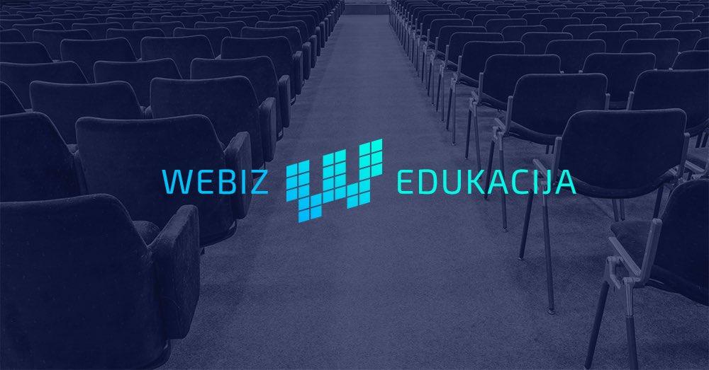 Spremite se za novi #Webiz: 20 predavača, nikada bolji program i nova, atraktivna lokacija! https://t.co/G612F6KyXu https://t.co/by0zZyi8Qs