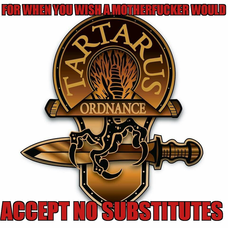 Tartarus ordnance
