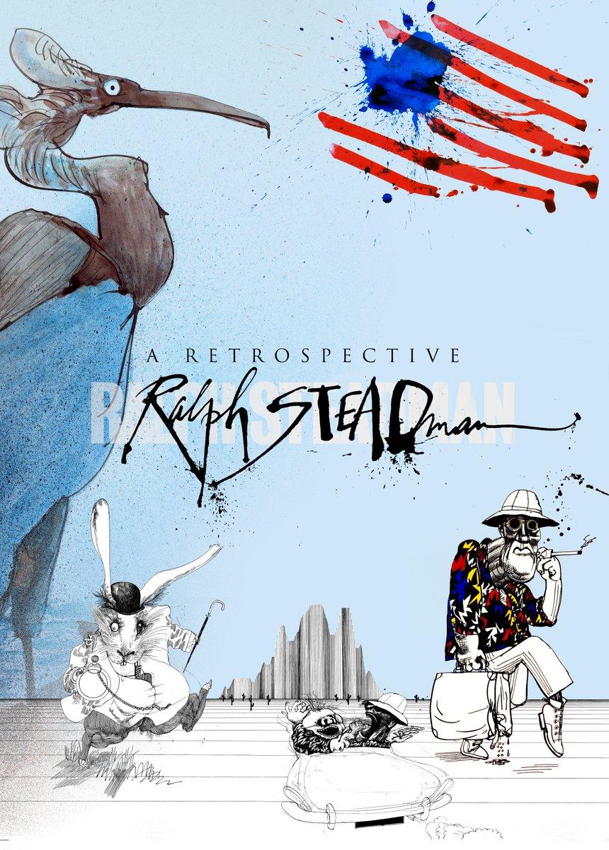 Mark your calendars! A Retrospective: RALPH STEADMAN coming to the Society Sept 6 - Oct 22 https://t.co/4vwZsVxRQ0 https://t.co/4qFJonvOxR