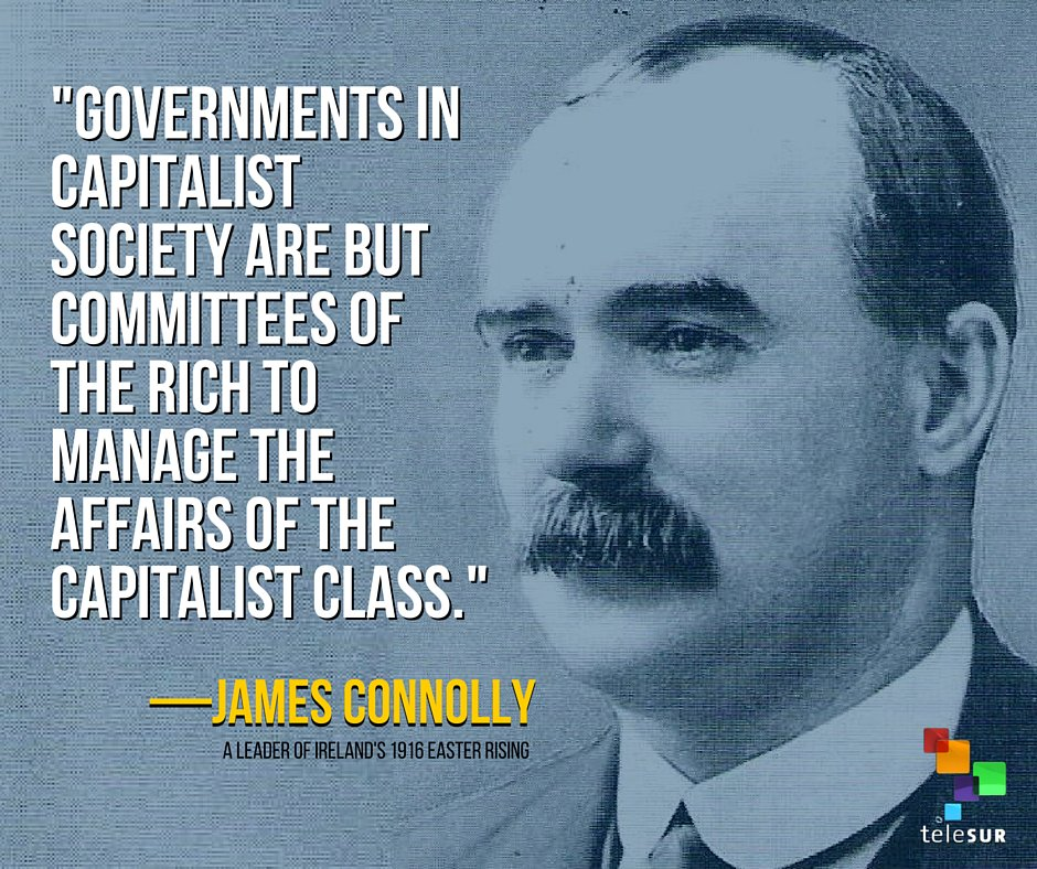 "teleSUR English on Twitter: ""James Connolly, Irish socialist, who ..."