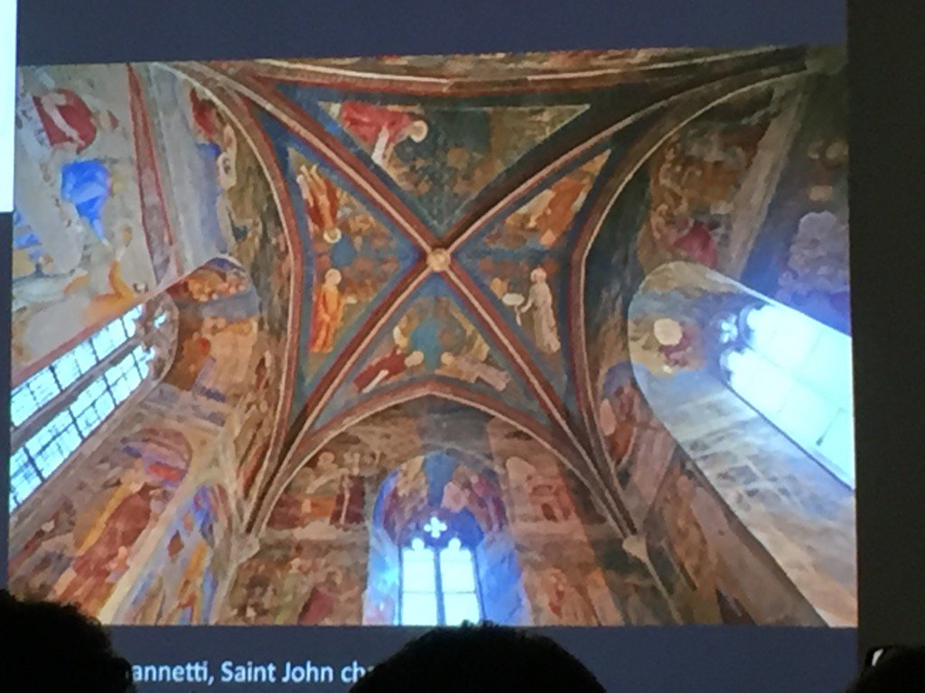 #s66 #Kzoo2016 Tanja Hinterholz on Avignon Papal Court frescoes https://t.co/ccZAmtwoFc
