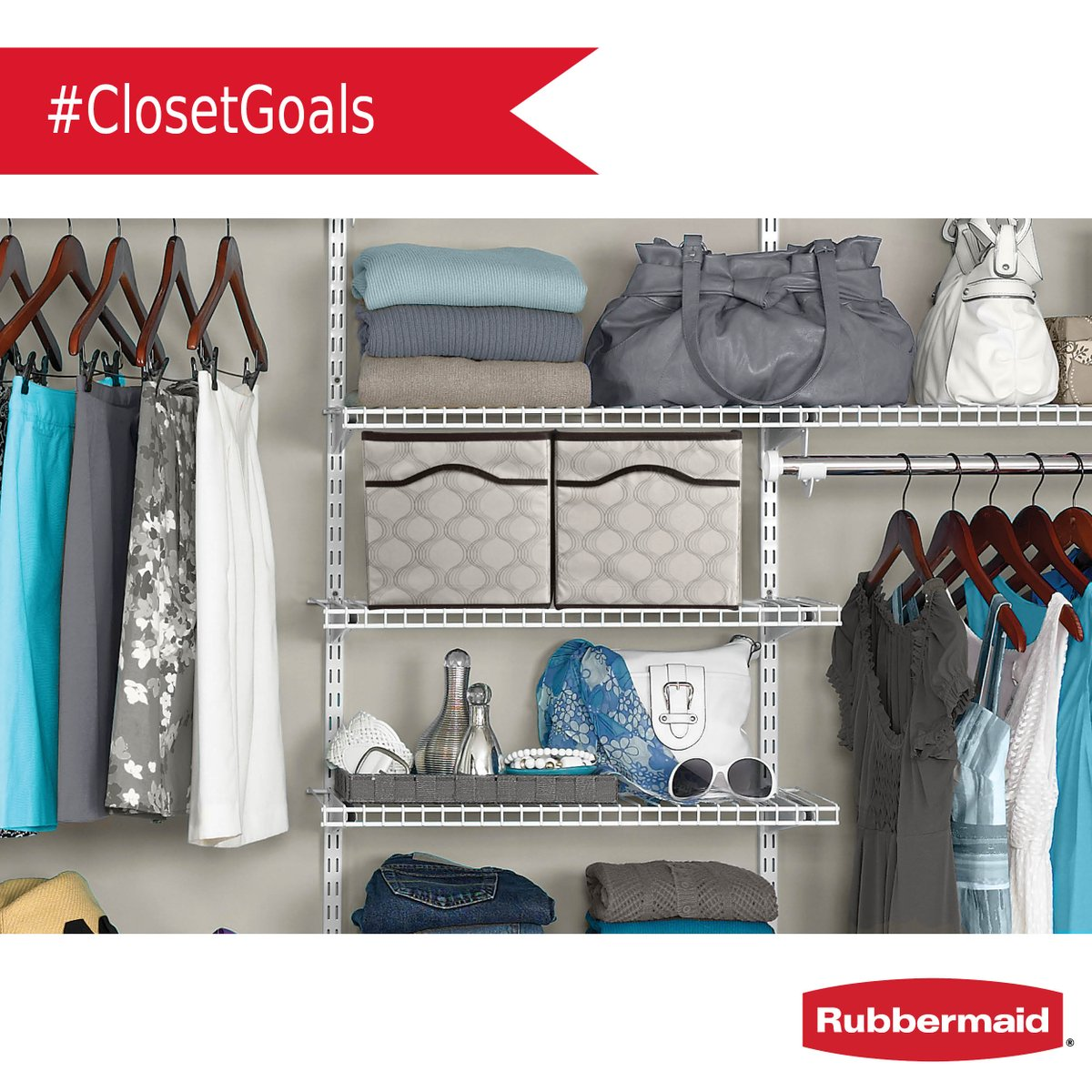 Rubbermaid On Twitter Your Dream Closet Is In Reach Thanks