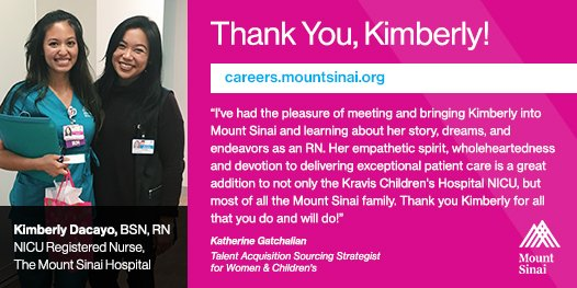Mount Sinai Careers on Twitter: