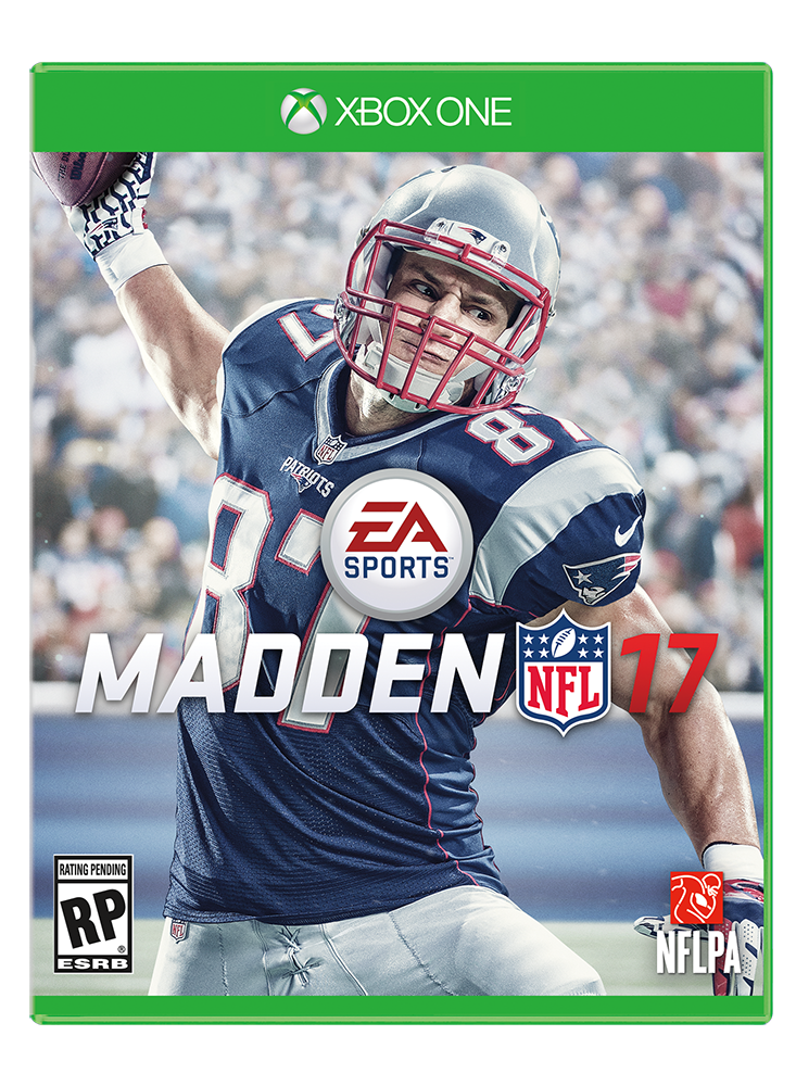 Patriots TE Rob Gronkowski to be on cover of Madden NFL '17