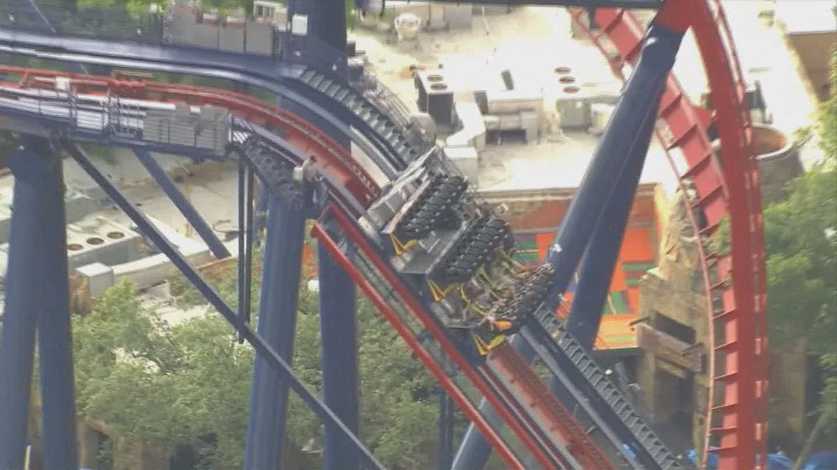 Riders evacuated from stuck Sheikra at Busch Gardens