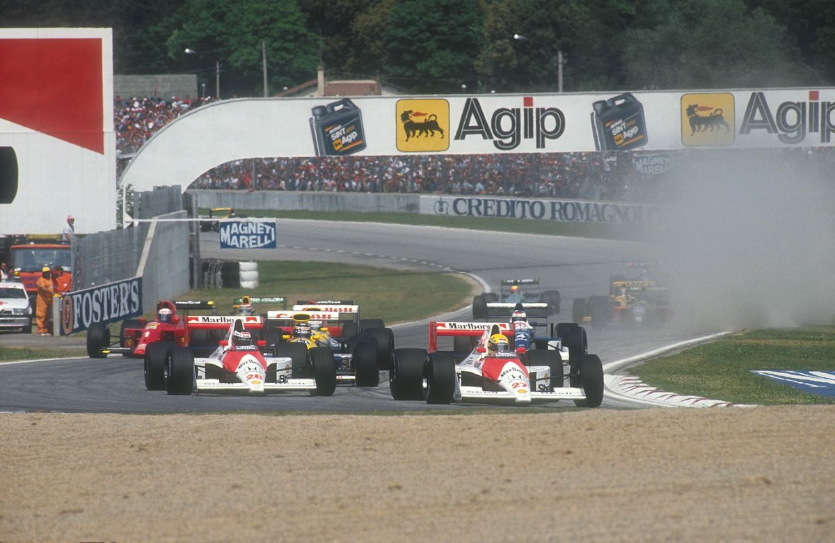 Image result for 1990 imola start