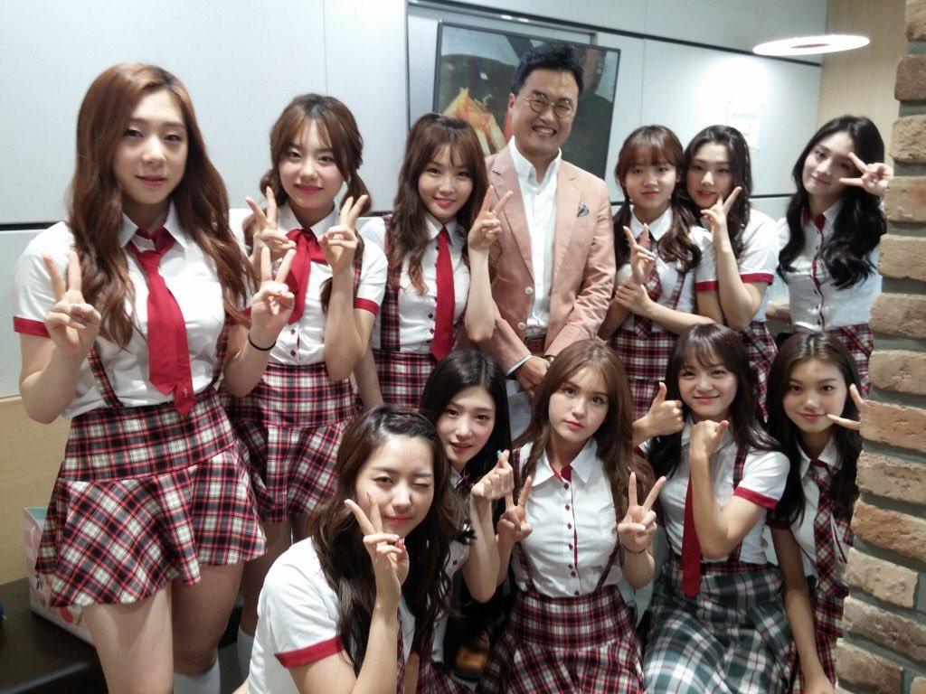 [PIC] bigstarsam twitter update with I.O.I  #아이오아이 #IOI