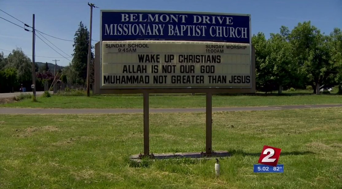 'Wake Up Christians. Allah Is Not Our God…': Church Billboard With Controversial Message About Jesus, Muhammad and the Koran Sparks Outrage