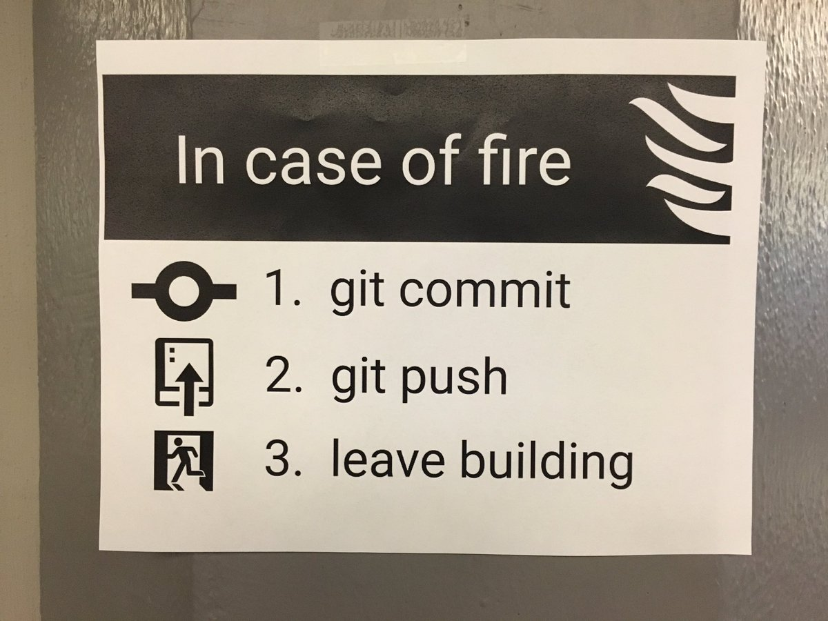 In case of fire... https://t.co/TXfE2LiGaK