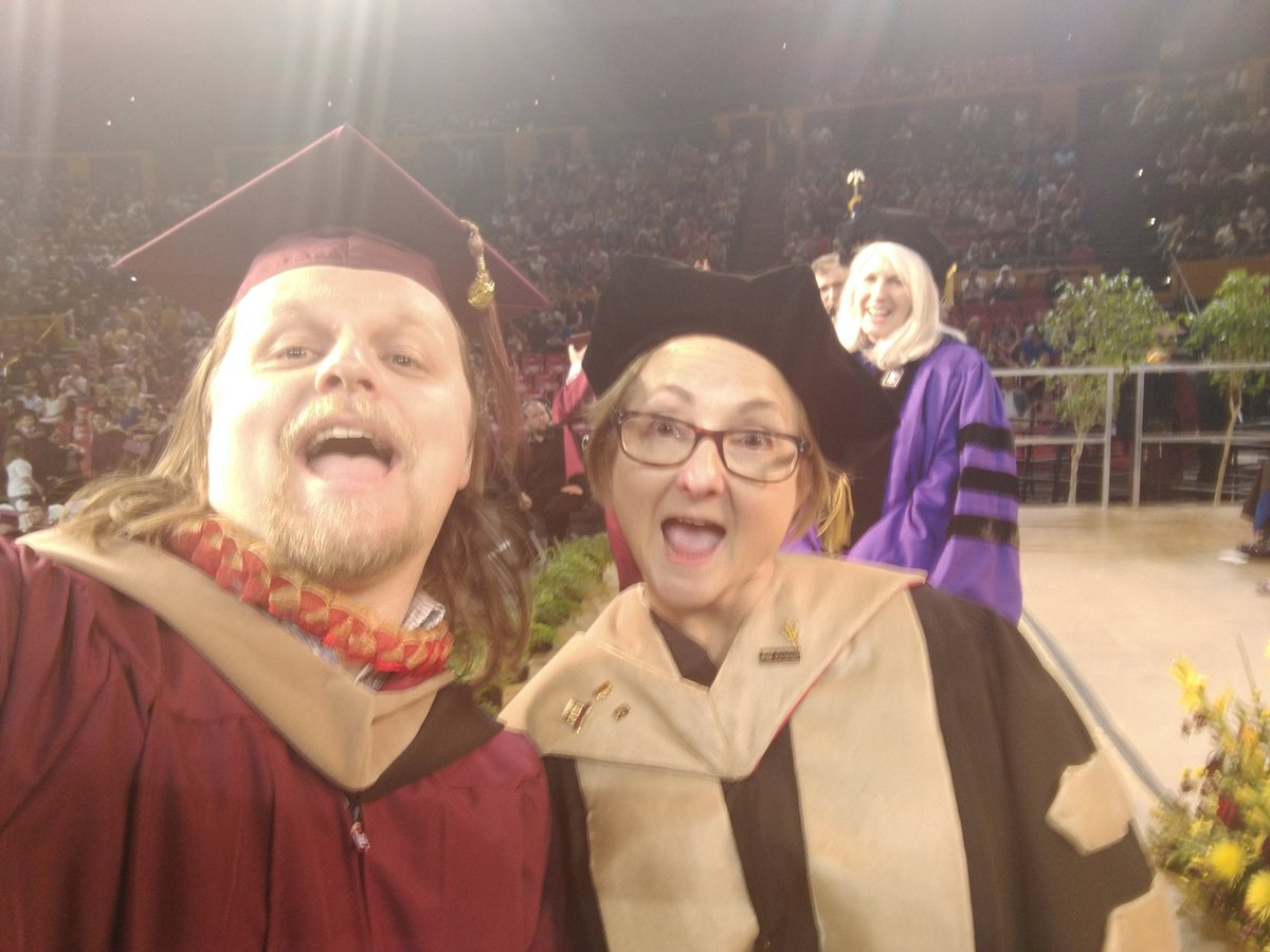 Thanks for the selfie @WPCdean @WPCareySchool #asugrad https://t.co/AqorDNjIRr