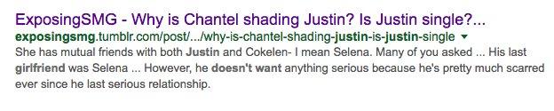 10. Quando dissemos a vocês que o Justin não queria uma namorada e isso foi exatamente o que ele acabou dizendo.  pic.twitter.com/lDRRVc83EI