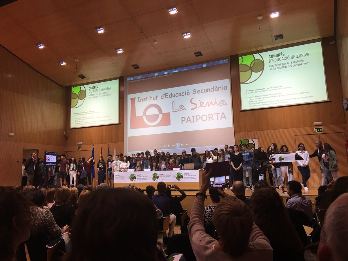 Experiència contada por los protagonistas. Bravo pigmaliones!! #EduInclusiva16 https://t.co/zP6jETtQRo