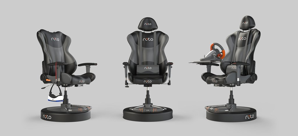 Roto VR Price, Release Date and Pre-Order Offer Now Live for VR Chair