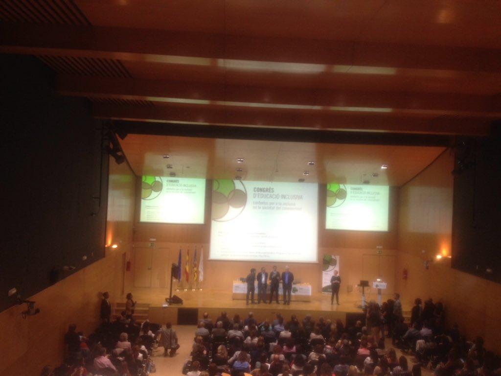 #EduInclusiva16 Joan Ribó  profunda satisfacción de la ciudad de Valencia y orgullo de trabajar con la Conselleria https://t.co/2eVGQtdVIZ
