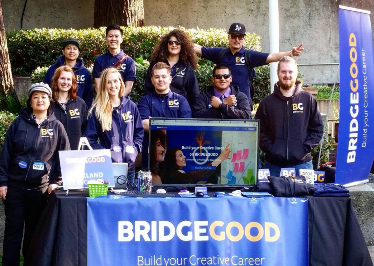 CONGRATS Team @BRIDGE_GOOD - thousands of #creatives & #businesses introduced to #BRIDGEGOOD at #OaklandIndieAwards https://t.co/1MJMlu95oX
