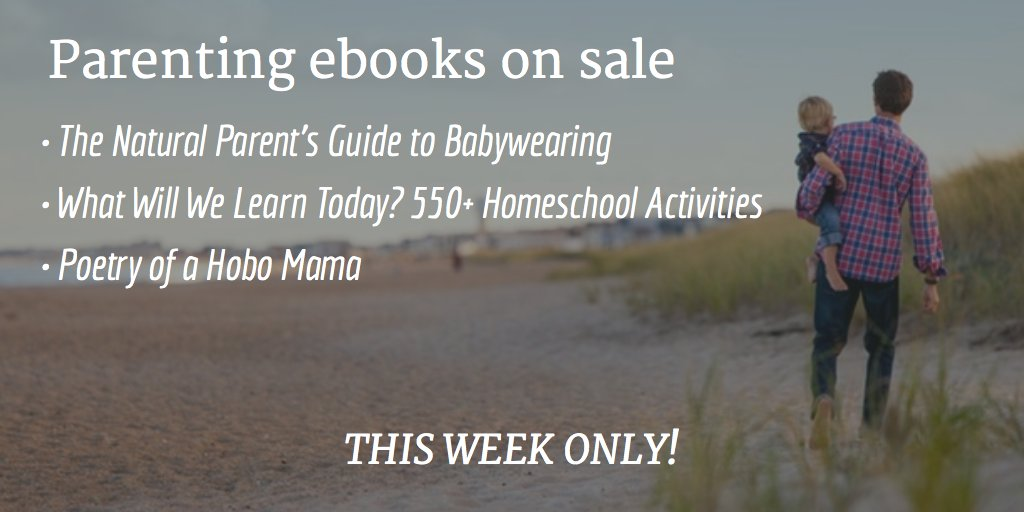 My #parenting #ebooks on sale through the weekend: https://t.co/7SKEzp1xZM #babywearing #homeschool https://t.co/Bl6GzF3O7D