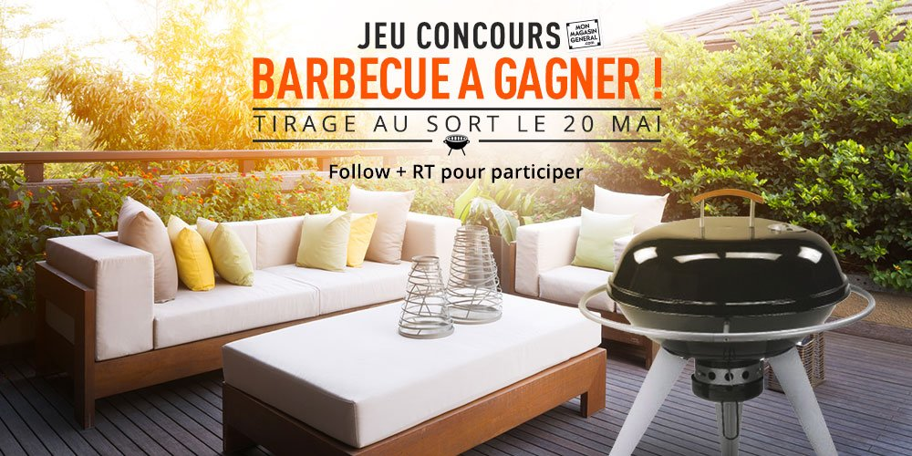 mon magasin g n ral on twitter concours barbecue gagner rt avec concoursbbq et suivez. Black Bedroom Furniture Sets. Home Design Ideas