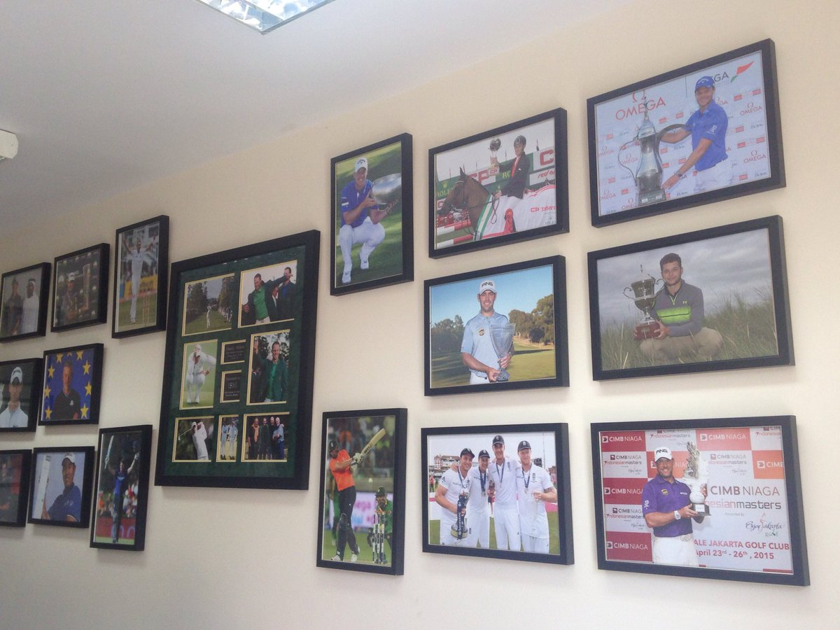Pretty good seeing my photo on the wall @TeamISM office next to champions #proud #honoured