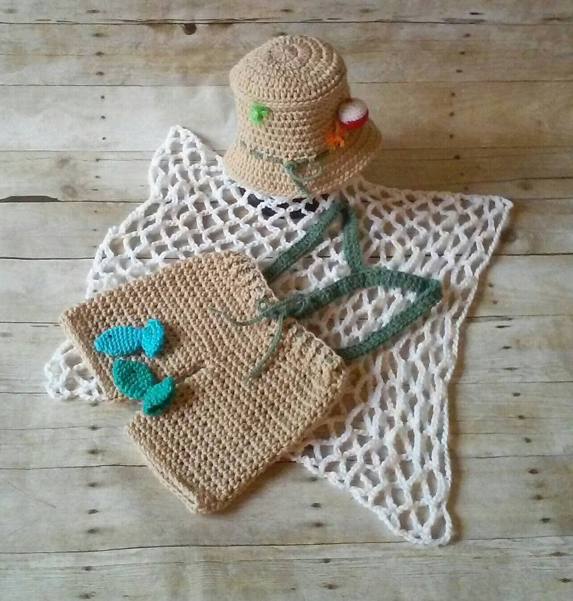 Adorable Adornments On Twitter Baby Fishing Outfit Baby Fisherman