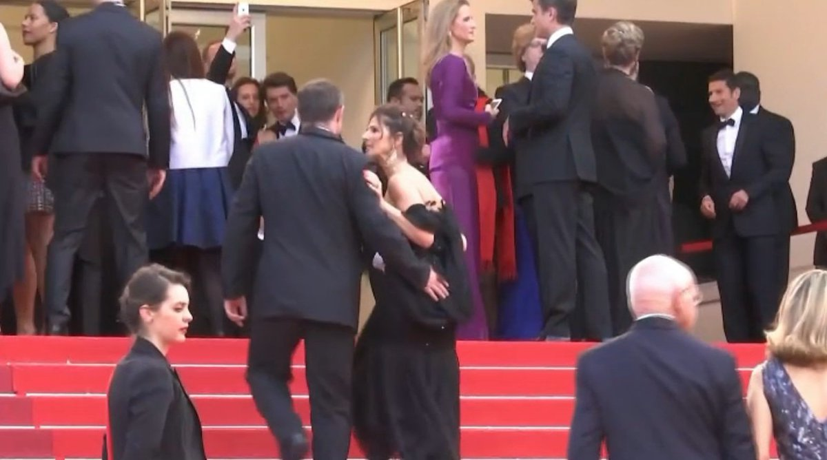 Bfmtv matinale on twitter premi re dition cannes - Christophe barbier et son epouse ...