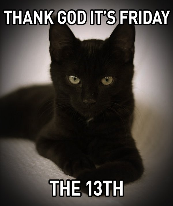 Did you survive Friday the 13th unscathed? Don't worry, the weekend is here! 🙌 #Weekend #Fridaythe13th #Friday