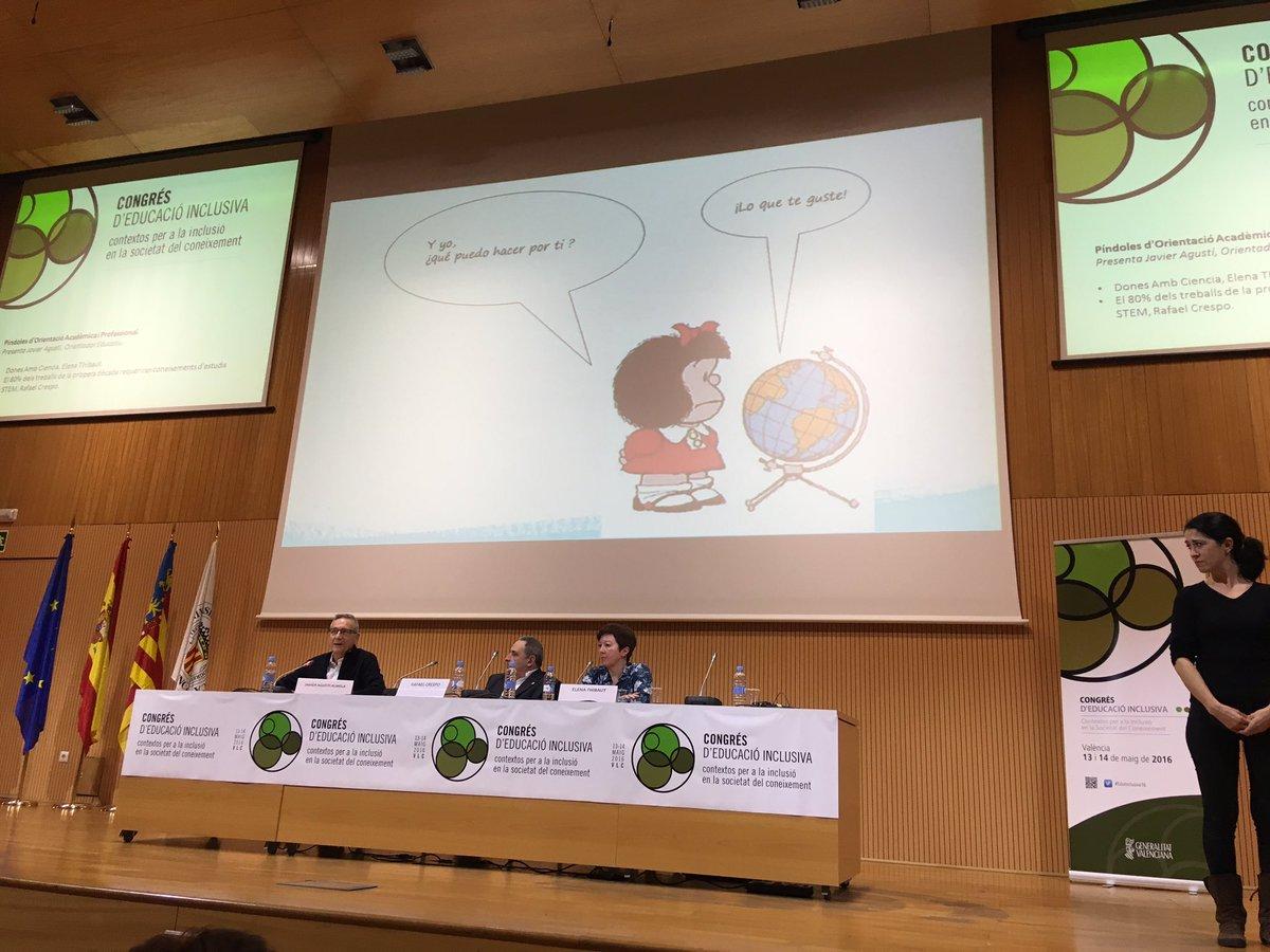 Javier Agustí @orientatic enfatiza la importancia del trabajo por Proyectos #EduInclusiva16 #PBL #PrimaveraEducativa https://t.co/U5RSXodRTQ