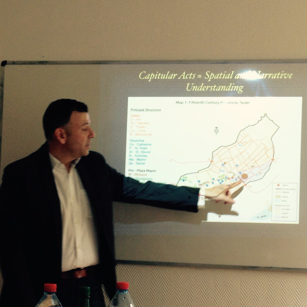 How to map capitular acts of 15th century Spain, explained by @rogerlmartinez #ephn2016 https://t.co/kcOqusX3Op